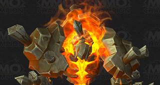 Un élémentaire de feu