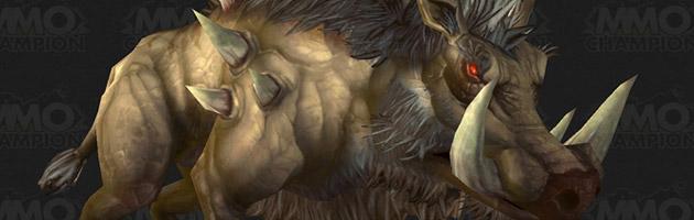 Les sangliers de Draenor se rencontrent un peu partout sur cette planète