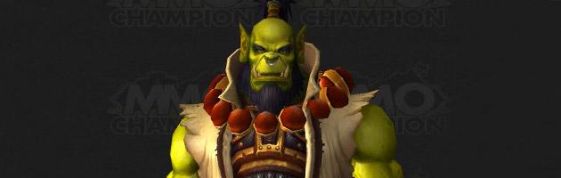 Le modèle de Thrall dans Warlords of Draenor