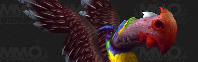 Ce magnifique toucan est certainement issu de la Jungle de Tanaan