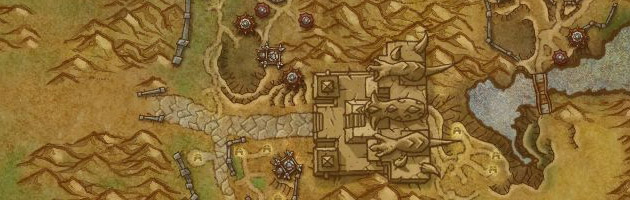 Carte zone de la Porte des ténèbres