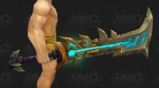 Modèle d'épée bleu
