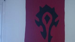 Le symbole de la Horde en guide d'armoiries