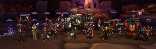 La guilde Paragon gravit la première marche du classement mondial en terminant Cognefort