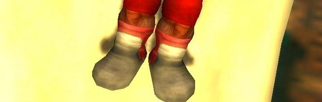 Des chaussettes très douillettes pour votre personnage