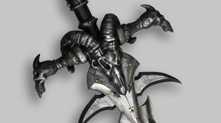 Deuillegivre l'épée du Roi Liche