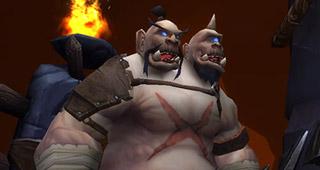Un Ogre dans les Mines de scories Masse-Sanglante