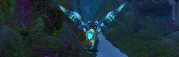 Arcaliche sur le proto drake bleu de la Cime d'Utgarde mode héroïque