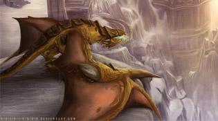 Proto-drake perdu dans le temps
