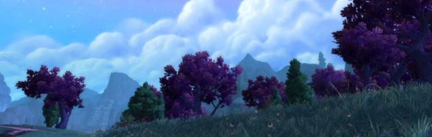 Une grande plaine s'étend à l'horizon au petit matin
