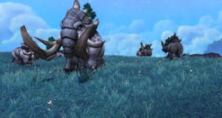 Un troupeau d'elekks