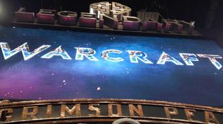 Présentation du logo Warcraft par Legendary