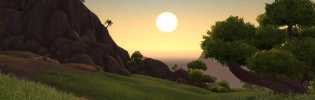 Appréciez un coucher de soleil à Nagrand