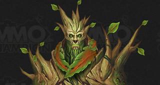 Un homme arbre de Draenor