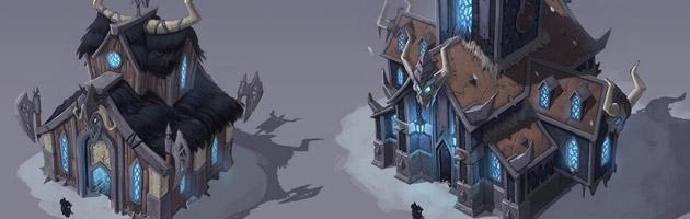 Un fief à l'architecture adapté pour les Chevaliers de la mort par Jomaro Kindred