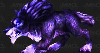 Un loup de la même texture