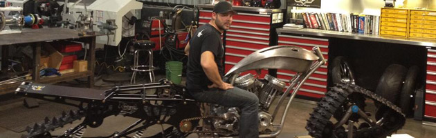 Paul JR sur la future moto de l'Alliance