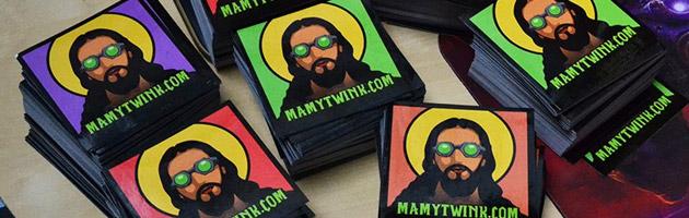Les nouveaux stickers Mamytwink sont disponibles en quatre coloris