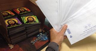 Les lettres sont prêtes à être envoyées !