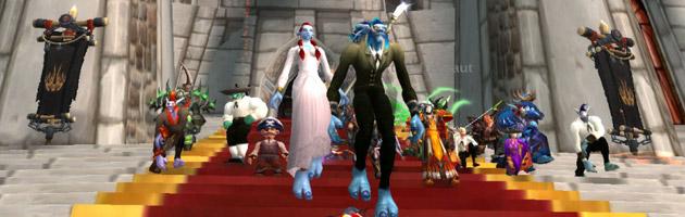 L'union entre Kungaloosh et Sëîko dans World of Warcraft