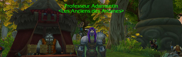 Eberos boost son Chasseur Adamantin au niveau 90 !