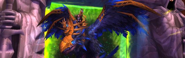Mamywod sur son Corbeau de l'effroi