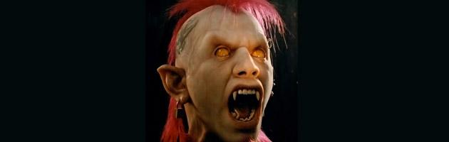 Une des réalisations d'Adrien Morot, un vampire aux allures punk