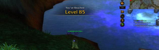 Doubleagent est désormais au niveau 85 sur l'île vagabonde