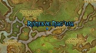 Dirigez-vous vers les ruines de Nag'wa