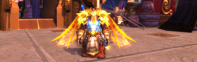Drapic et ses ailes flamboyantes toutes neuves !
