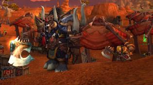 Evilgorath accompagné du petit Grommie