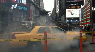 Il n'est pas bon d'être un taxi à New-York
