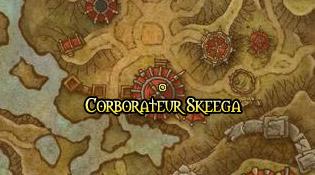 L'intendant de la Horde Corborateur Skeega
