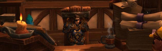 Parlez au Lieutenant Epine côté Alliance pour partir faire l'Ordalie