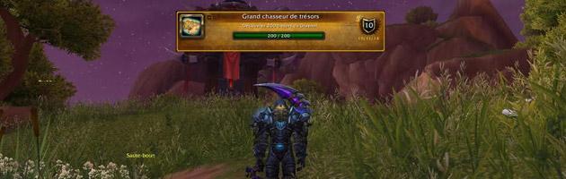 Tikos a validé le haut-fait Grand chasseur de trésors en Draenor