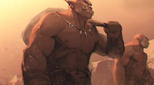 Une ambiance plus guerrière pour les Orcs
