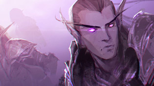 Les Elfes reproduits par l'artiste via le teaser