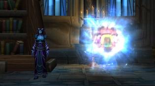 Portail situé dans le Sanctuaire du sorcier