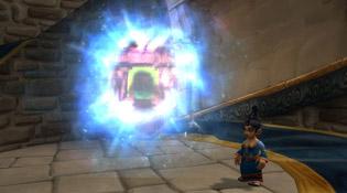 Portail du Sanctuaire du sorcier à Hurlevent