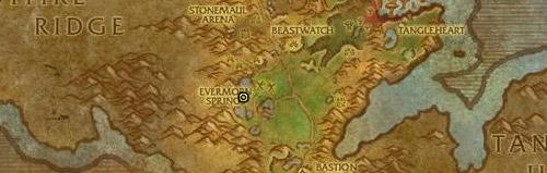 Se récupère sur Bashiok en Gorgrond.