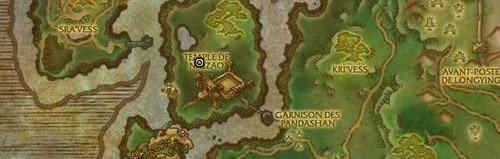 Se récupère sur Cajolin le Gardien des coeurs dans les Steppes de Tanglong.