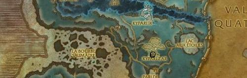 Se récupère sur Ik-Ik l'agile dans les Terres de l'angoisse.