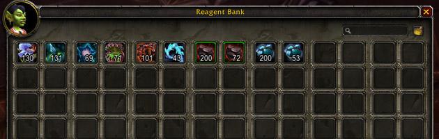 La banque aux composants dispose de 98 emplacements
