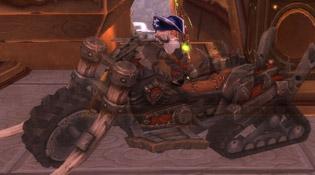 Dertrio et son chopper de la Horde