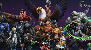 Heroes of the Storm Character Line-Up