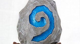 Hearthstone Statue Blizzard Holiday Exclusive (2013)