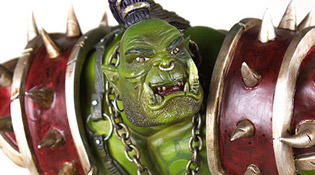 World of Warcraft Orc Warrior Statue (2006)