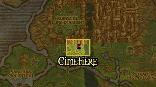 Cimetière Elfe de sang - Lune d'argent
