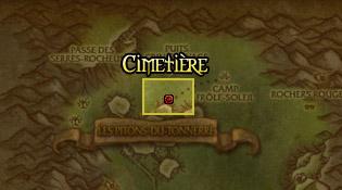 Cimetière Tauren - Pitons du tonnerre
