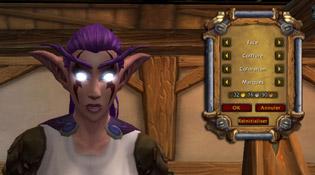 Changement de visage pour Elfe de la nuit
